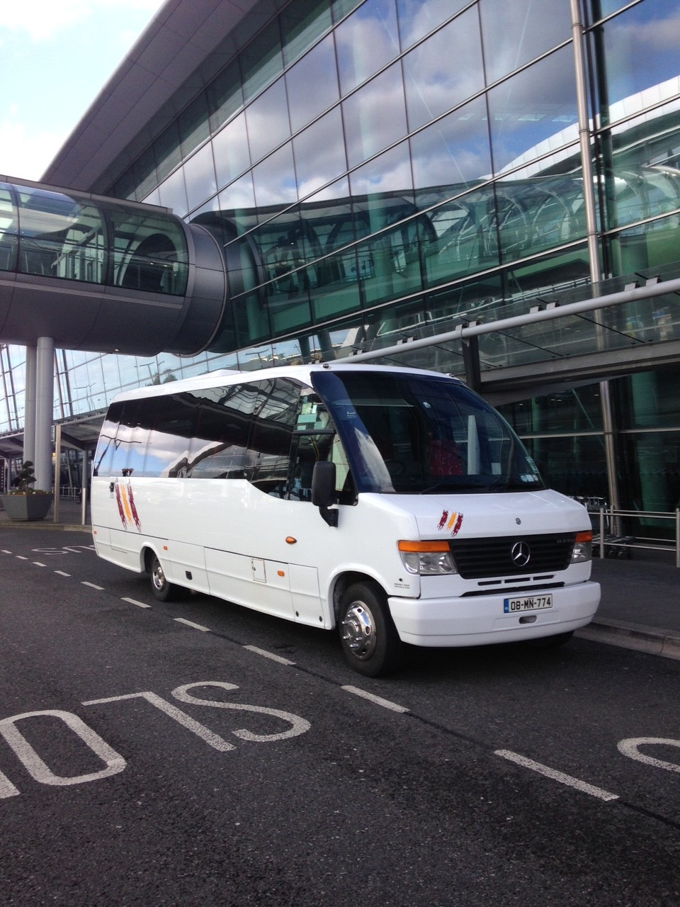 Laverty Coaches professional airport transport services getting you to & from the airport in comfort & style.